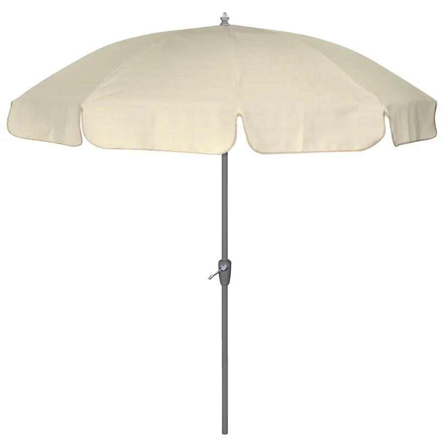 sunbrella canvas round patio umbrella