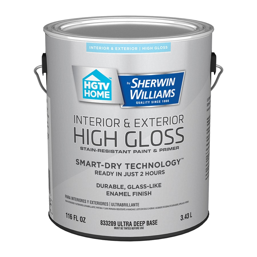Hgtv Home By Sherwin Williams Ultra Deep Water Based Door And Trim Paint 1 Gallon In The Door Trim Paint Department At Lowes Com
