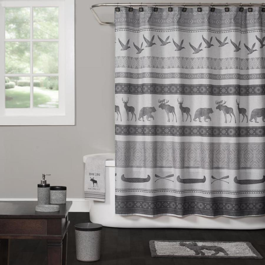 saturday knight limited 70 in polyester patterneded shower curtain