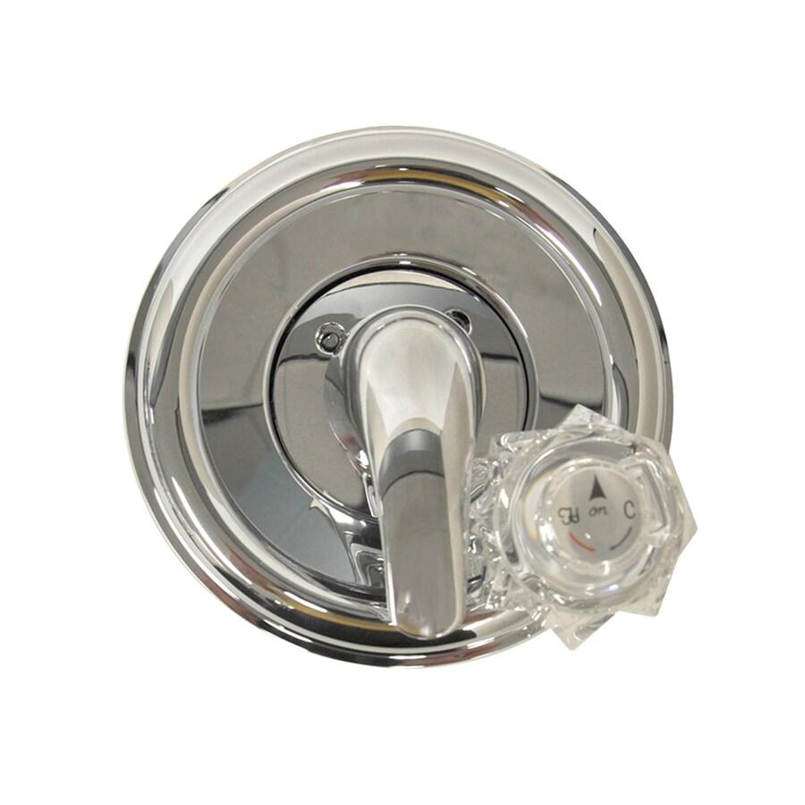 Shop Danco Chrome 1 Handle Bathtub And Shower Faucet At