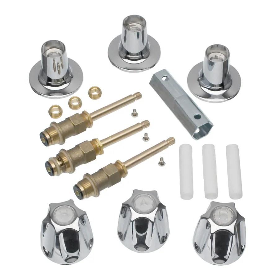 tub shower faucet repair kits