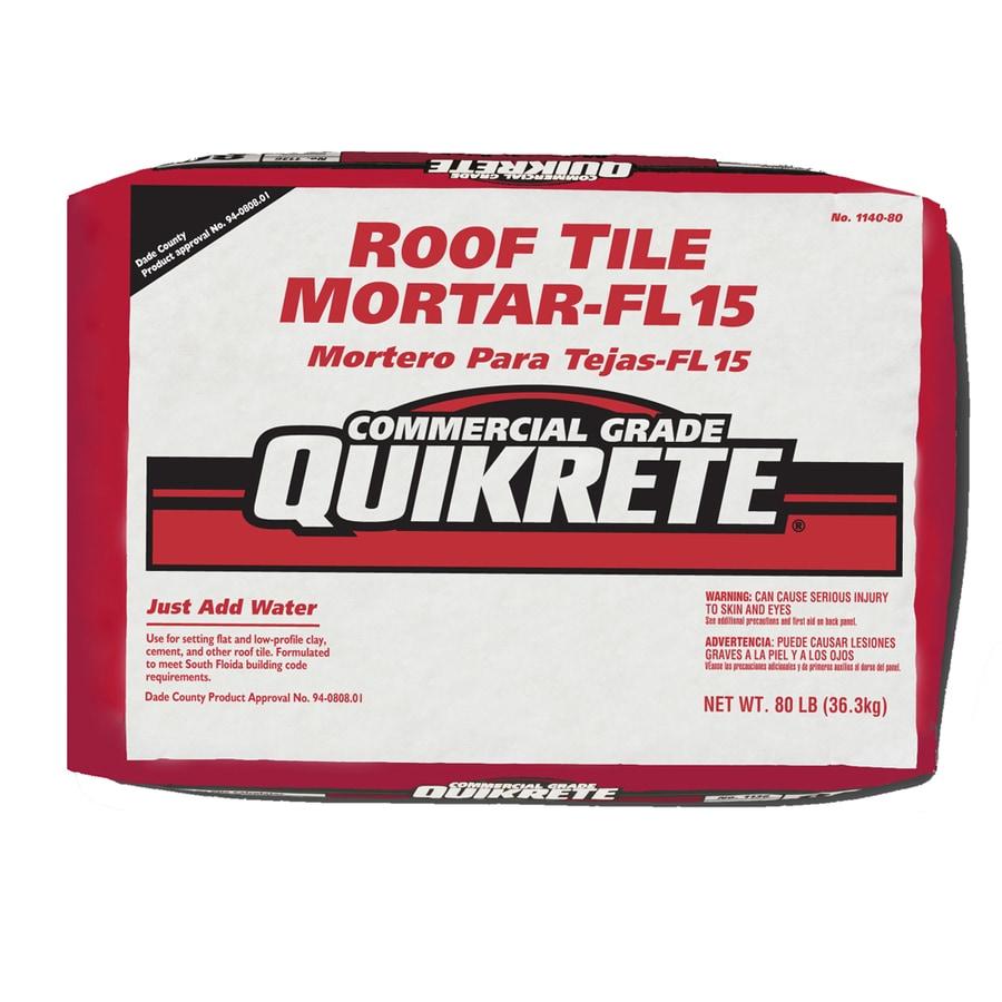 quikrete 80 lb gray type m mortar mix
