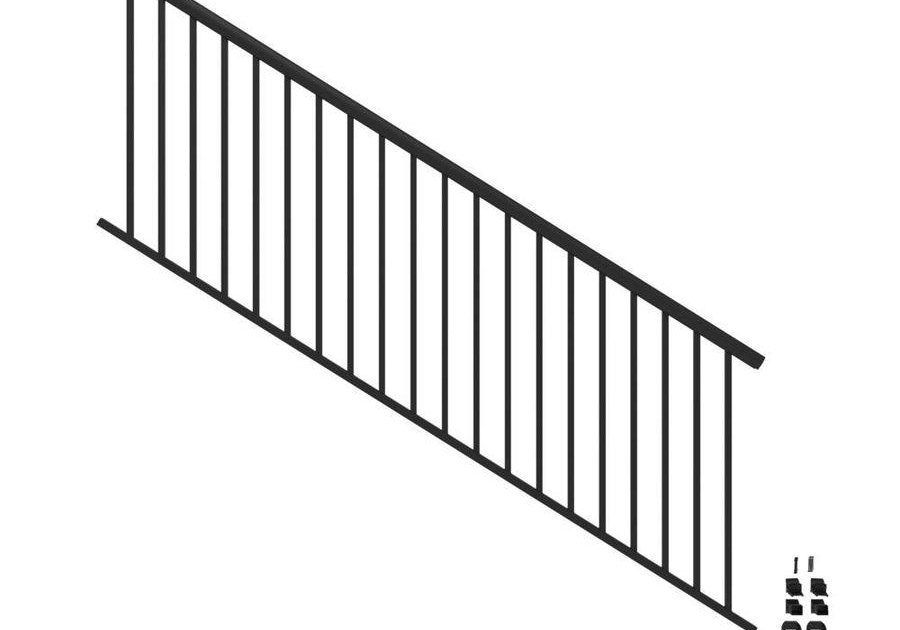 Stair Rail Deck Railing At Lowes Com | Lowes Exterior Stair Railing | Railing Systems | Stair Parts | Stair Treads | Lowes Com | Wrought Iron