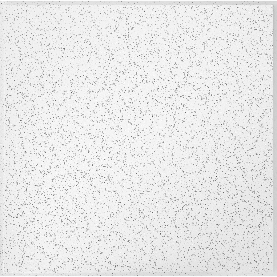 armstrong ceilings 24 in x 24 in random textured contractor 16 pack white fissured 15 16 in drop acoustic panel ceiling tiles