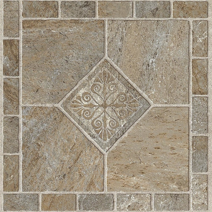 armstrong flooring multicolor 12 in x 12 in water resistant peel and stick vinyl tile 1 sq ft lowes com