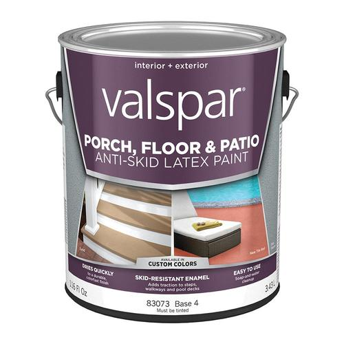 valspar tintable satin interior exterior anti skid porch on valspar paint id=57841