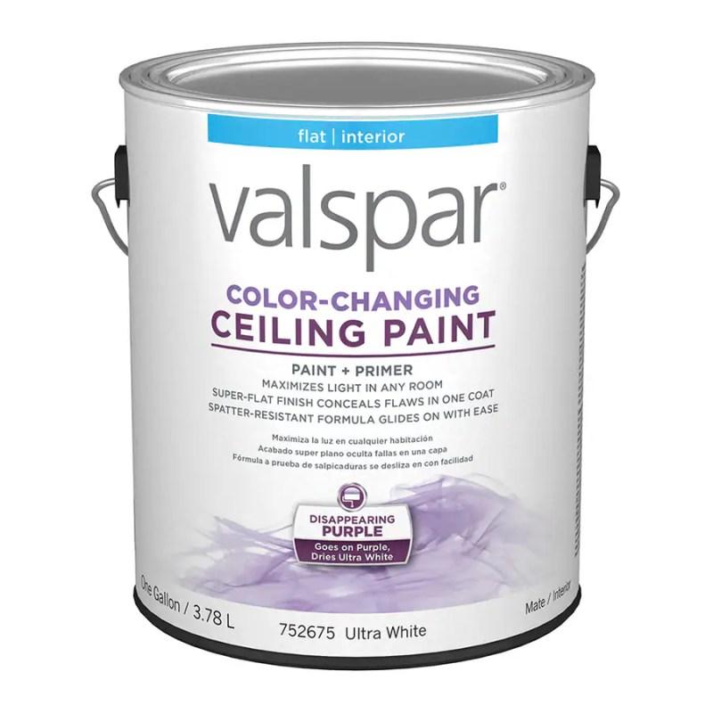 Valspar Color Changing Ceiling Paint Lowes