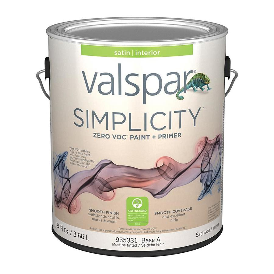 valspar simplicity ultra white satin tintable interior on valspar paint id=55528