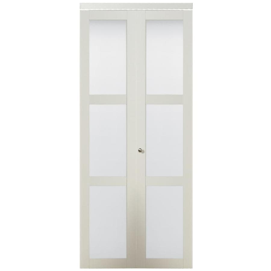 reliabilt 24 in x 80 in white frosted glass on Reliabilt Colonist 24 In X 80 In White 6 Panel Primed id=11778