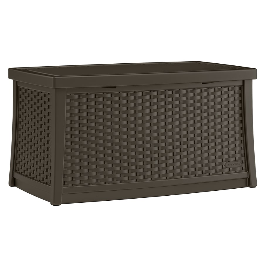 suncast rectangle wicker outdoor coffee table 20 in w x 34 in l with