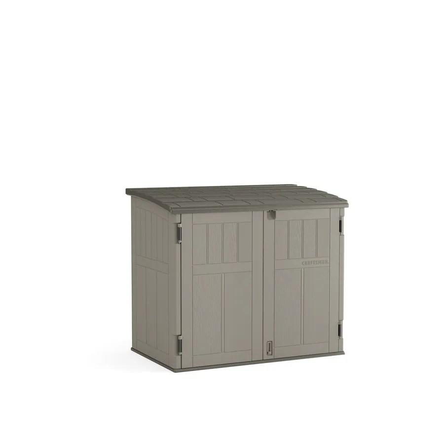 craftsman 4 ft x 2 ft storage shed