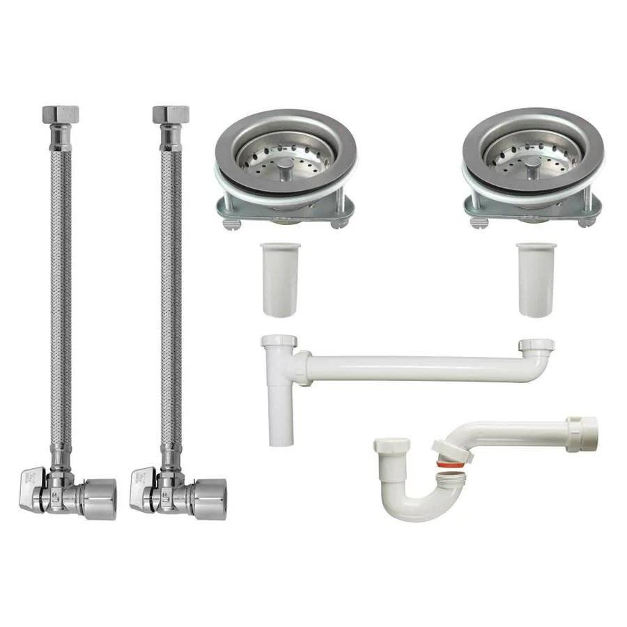 keeney kitchen sink installation kit for 1 1 2 in pipe