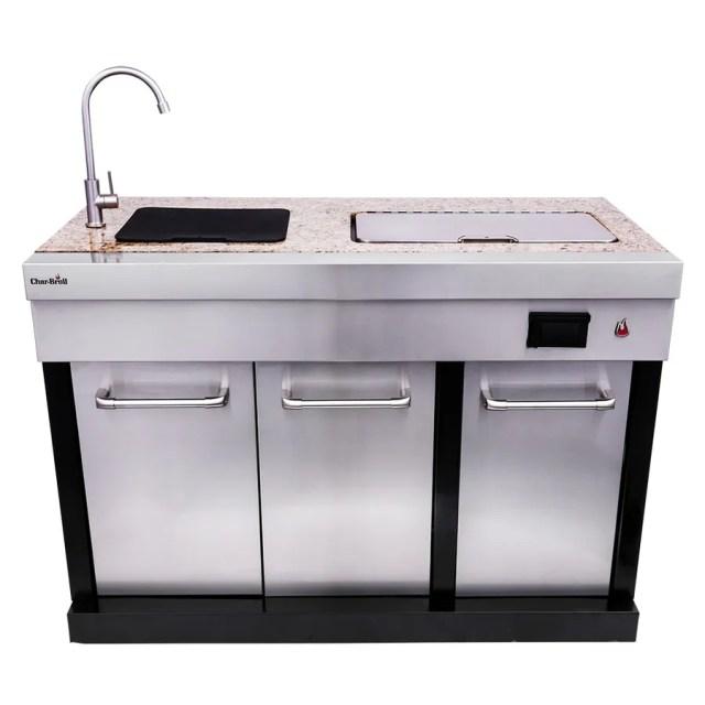 char-broil modular outdoor kitchen medallion modular drop-in bar