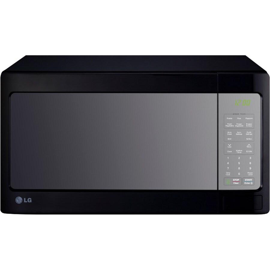 https www lowes com pd lg 1 4 cu ft 1 100 watt countertop microwave smooth black 1000059531