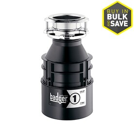 InSinkErator Badger 1 1/3-HP Continuous Feed Garbage Disposal