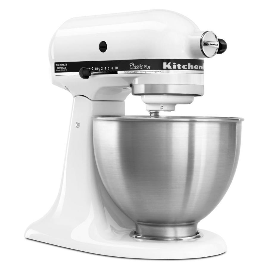 Shop KitchenAid Classic 45 Quart 10 Speed White Stand