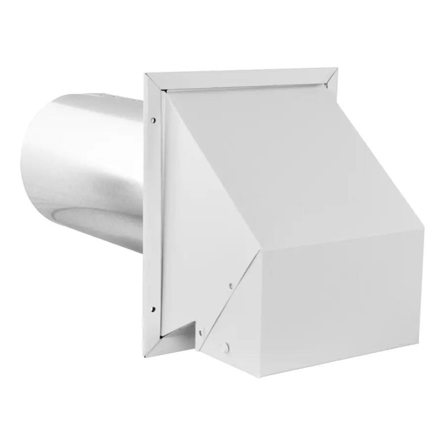 building supplies bath and kitchen exhaust vent galvanized 8 inch vents
