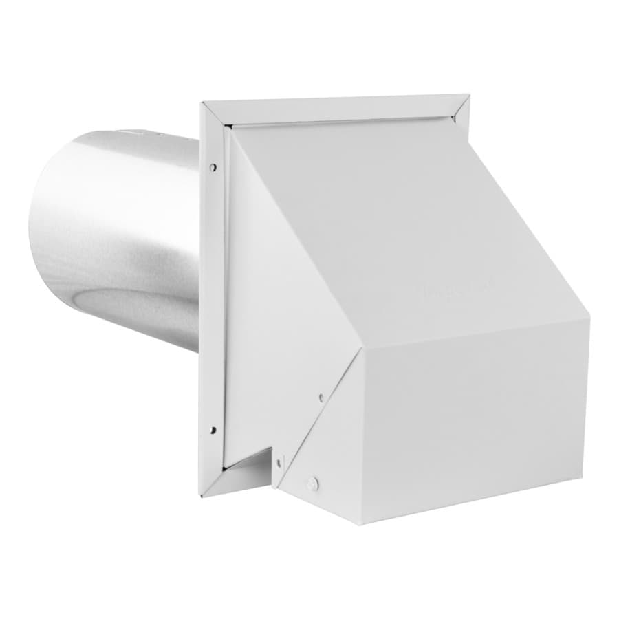 imperial 6 in dia galvanized steel r2 exhaust intake dryer vent hood lowes com