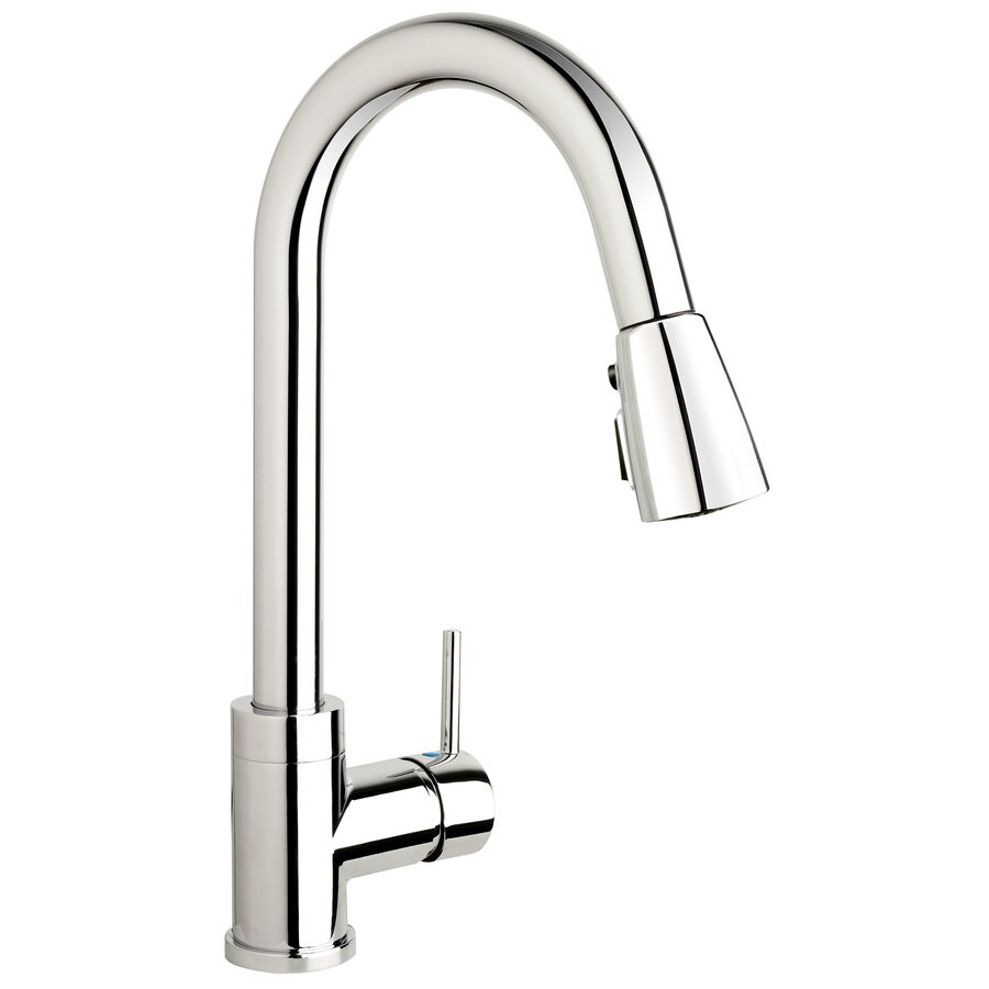 keeney belanger urb78ccp single handle pull down kitchen faucet polished chrome