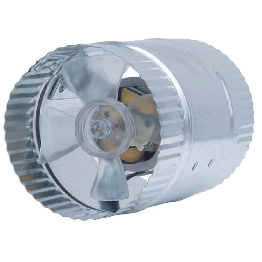 dia galvanized steel axial duct fan