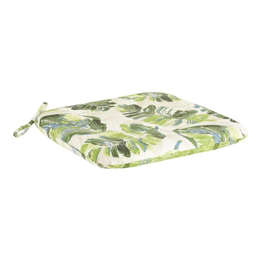 garden treasures palm leaf seat pad