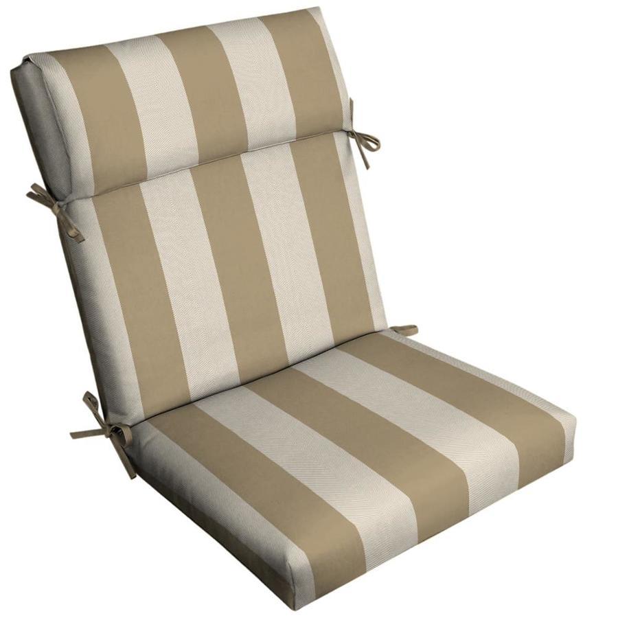 high back patio chair cushion patio