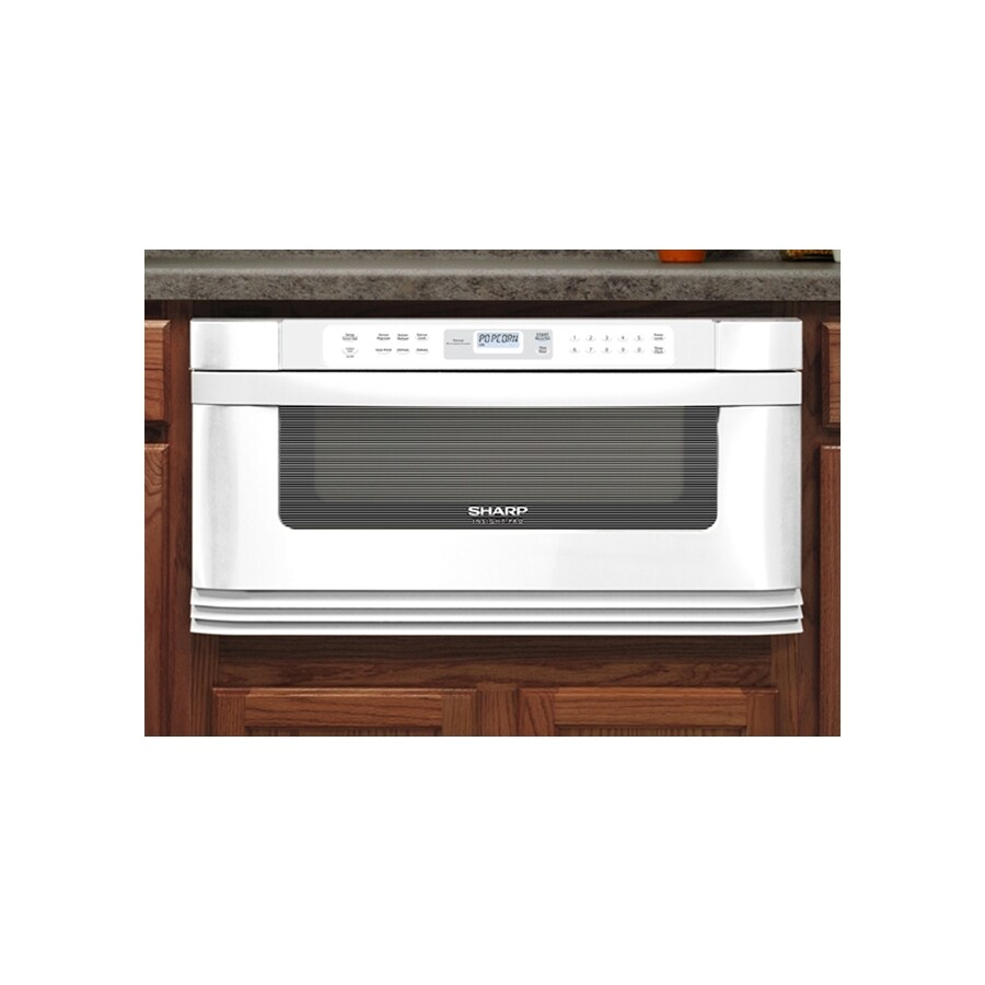 sharp 30 in 1 cu ft microwave drawer