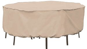 Elemental Tan Polyester Dining Set Cover At Lowescom