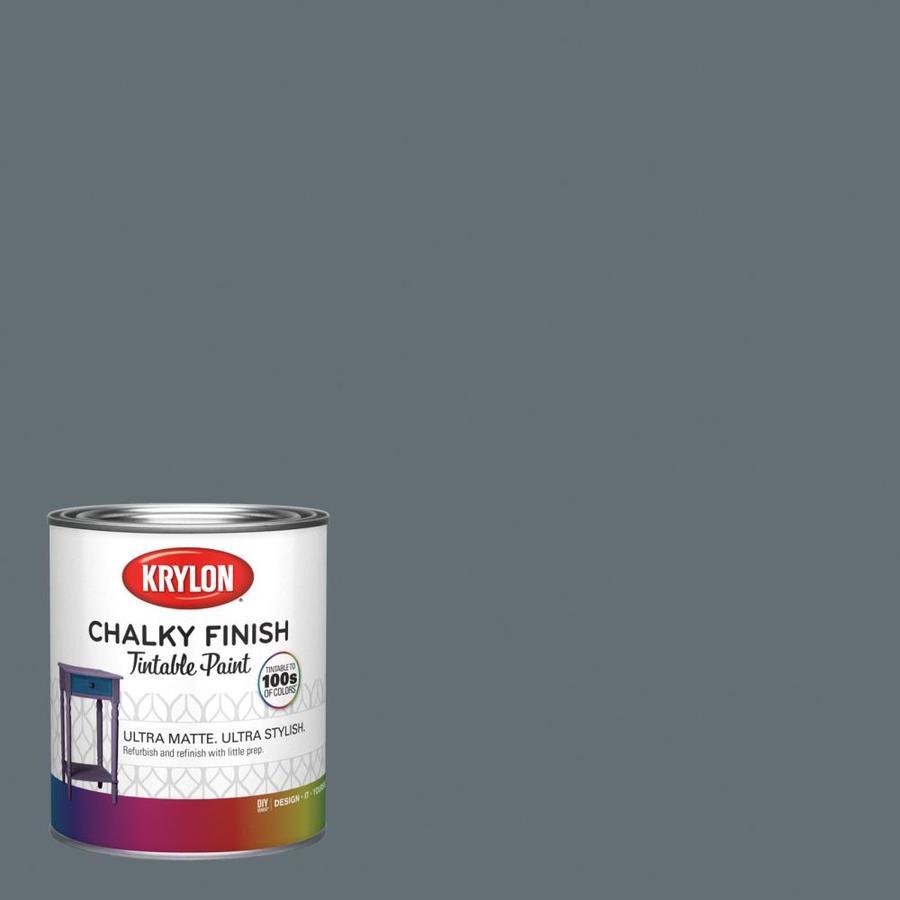 krylon slate tile hgsw1472 water based chalky paint 1 quart