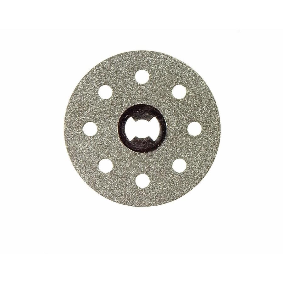 dremel ez lock diamond grit 1 1 2 in cutting wheel accessory lowes com