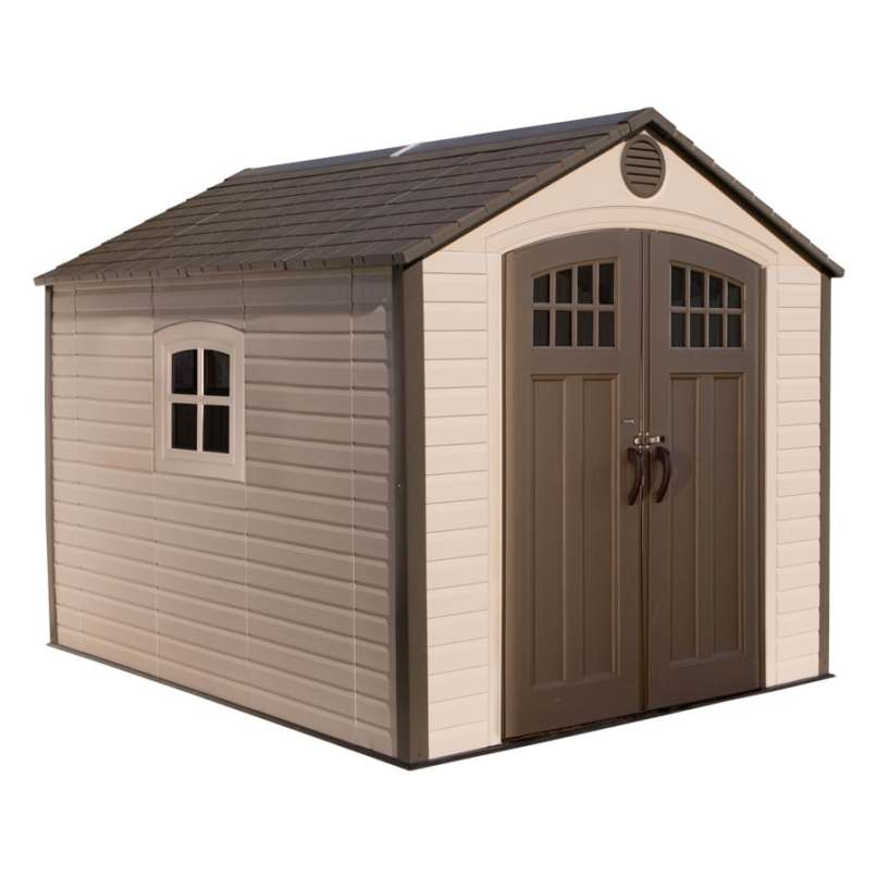 Lifetime Products Gable Storage Shed Common 8 Ft X 10