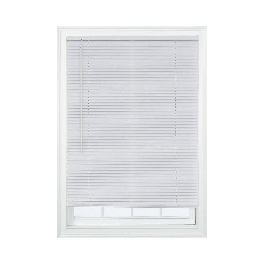 magne blind 1 in slat width 25 in white
