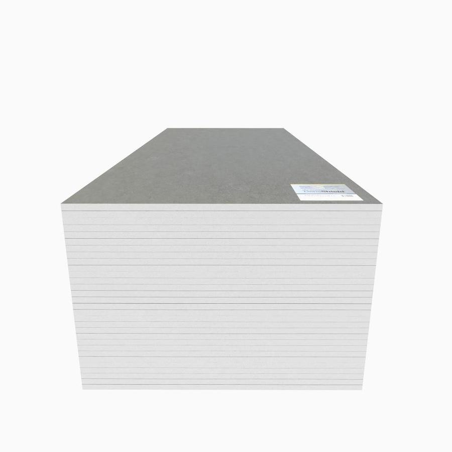densshield 0 49 in x 31 9 in tile backer gypsum backer board
