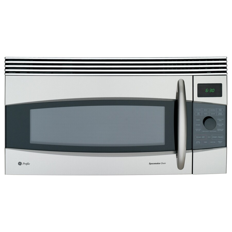 ge profile 1 7 cu ft over the range convection microwave with sensor cooking stainless