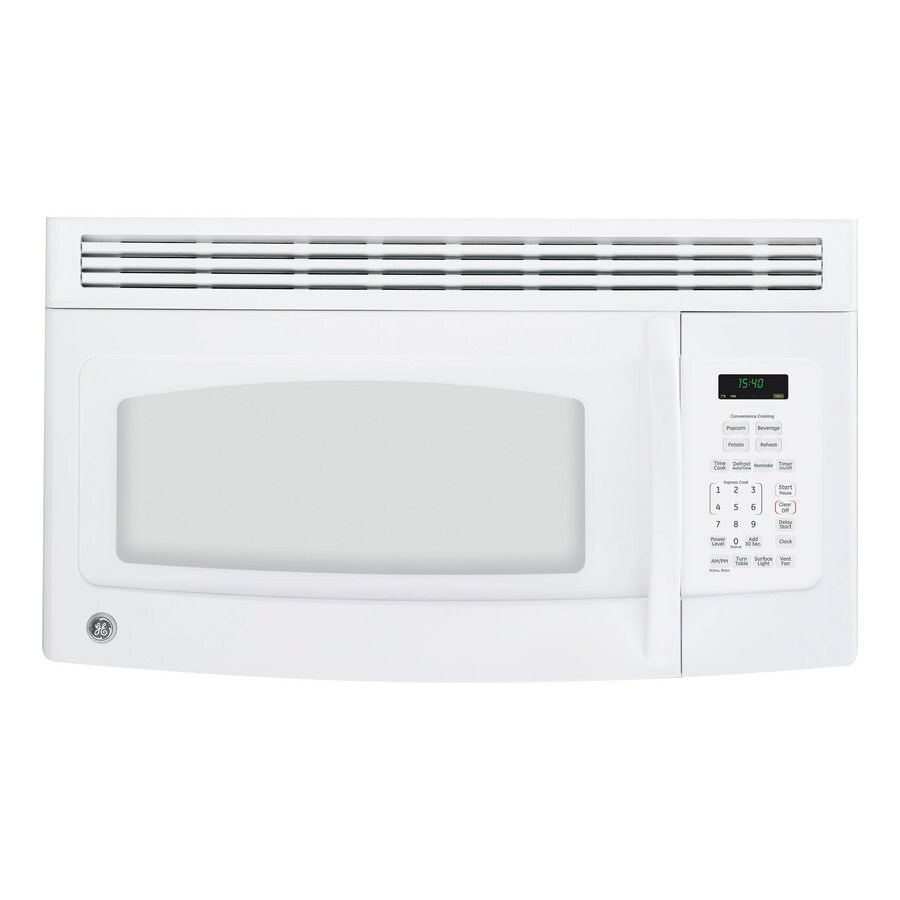 https www lowes com pd ge 1 5 cu ft over the range microwave color white 1072559
