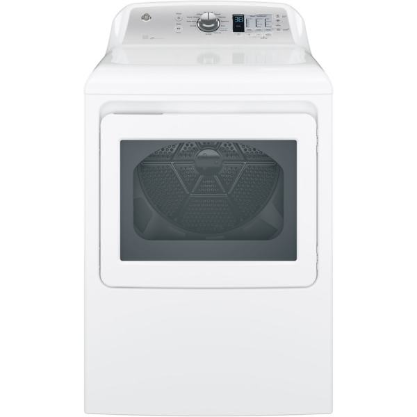 Shop GE 7.4-cu ft Electric Dryer (White) ENERGY STAR at ...
