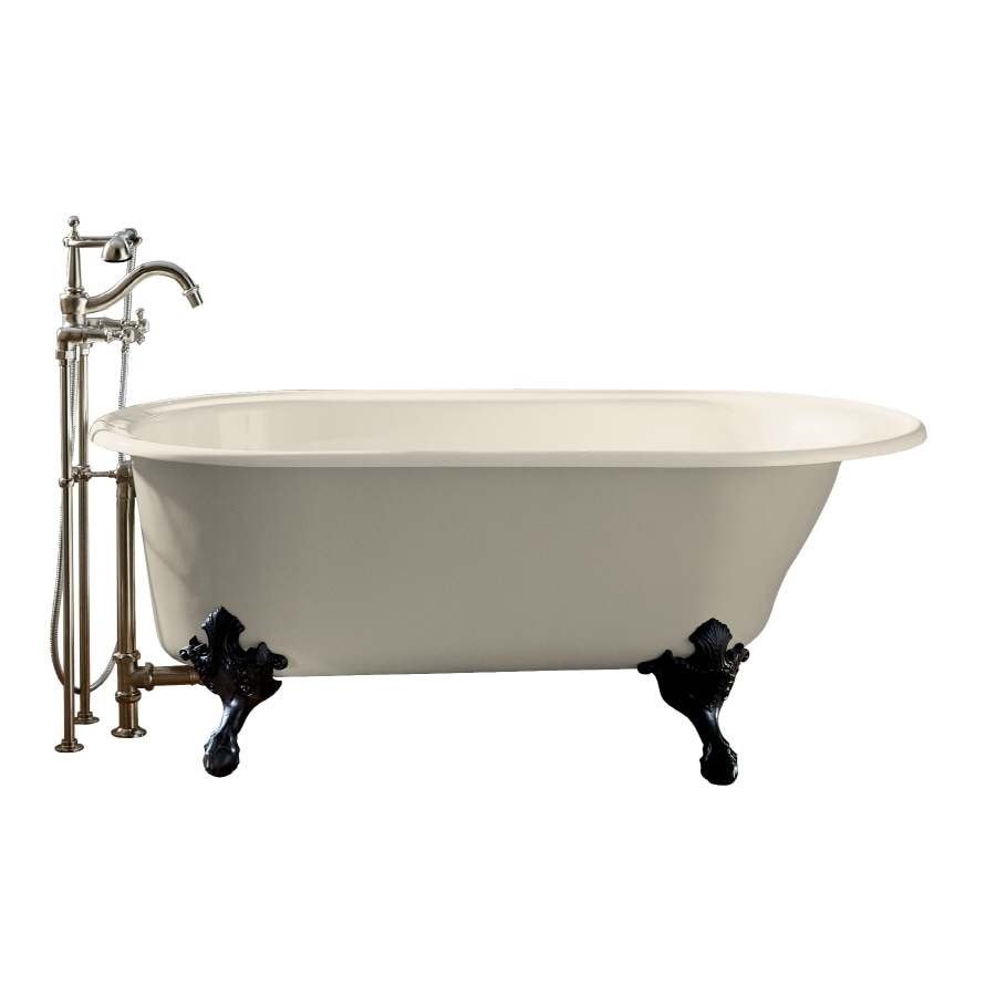 Shop KOHLER Iron Works Historic 66 In Almond With