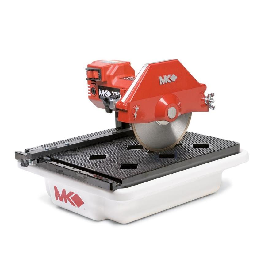 mk diamond products 7 in 5 amp wet tabletop tile saw