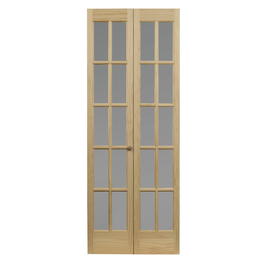 pinecroft classic 30 in x 80 in unfinished pine on Pinecroft 30 In X 80 In Unfinshed Pine Wood 2 Panel Square id=76888