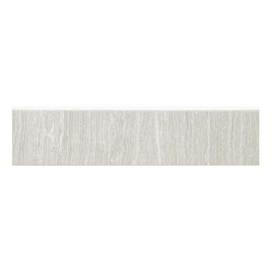 style selections leonia silver porcelain bullnose tile 3 in x 12 in