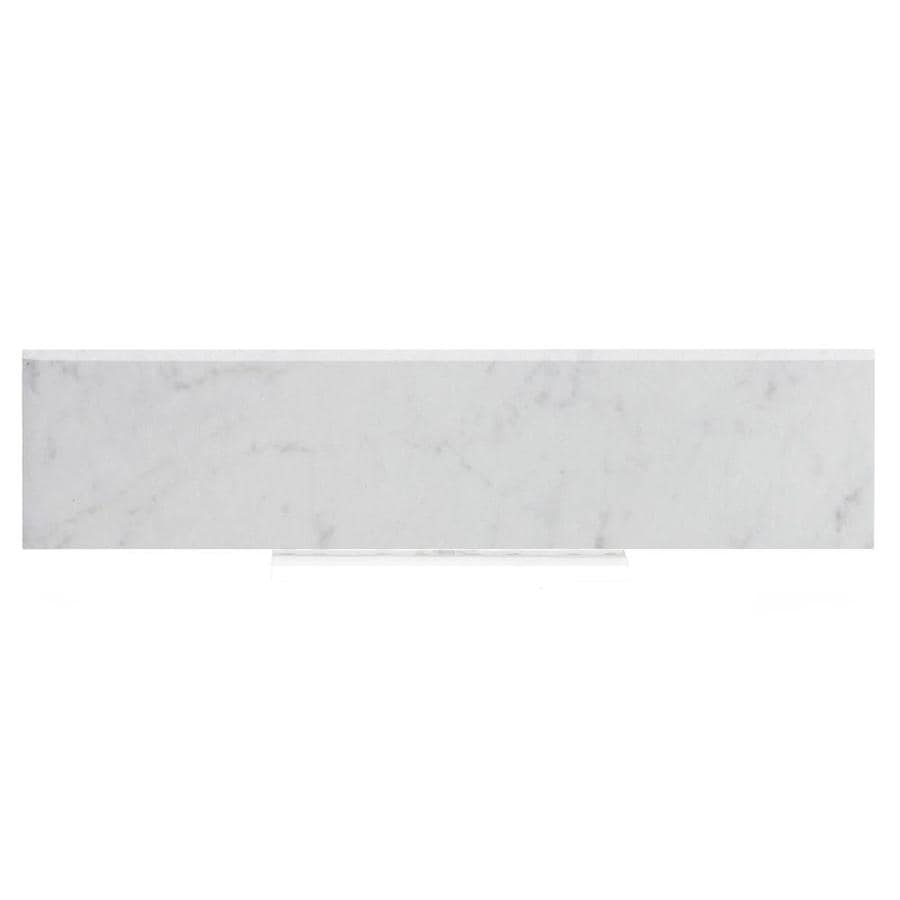style selections futuro white porcelain bullnose tile 3 in x 12 in