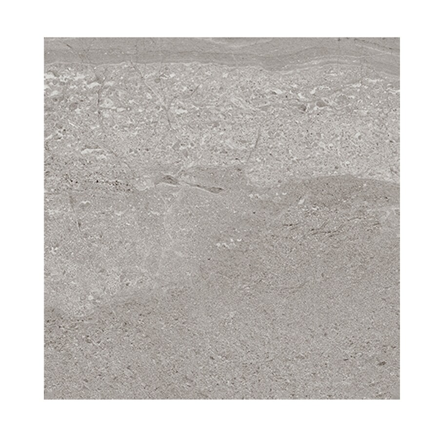 style selections skyros gray 6 in x 6 in porcelain tile sample