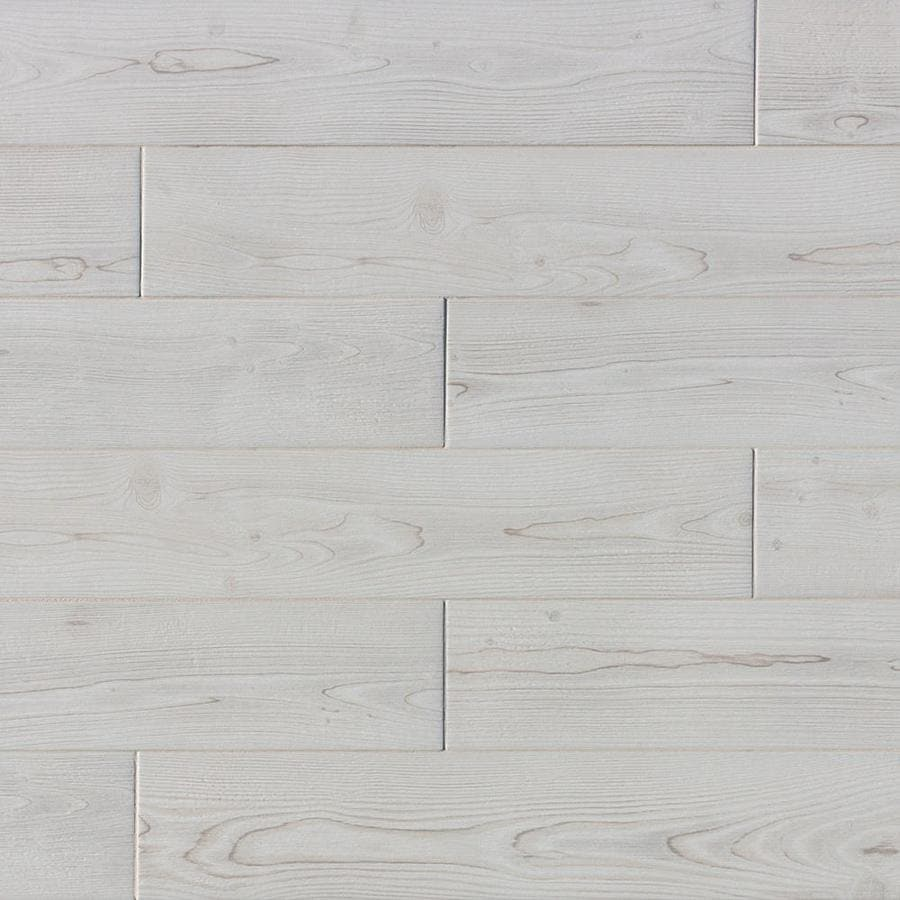 true porcelain co pine wood white 6 in x 36 in matte porcelain wood look floor and wall tile lowes com