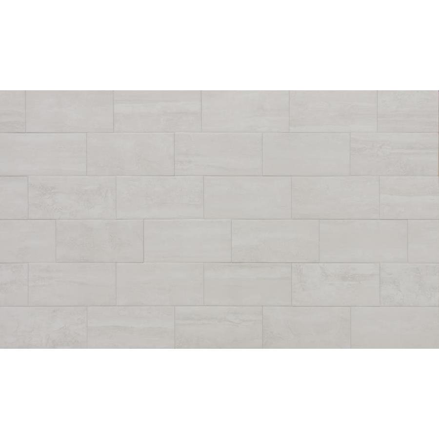 true porcelain co endless ivory 6 in x 12 in matte porcelain stone look floor tile