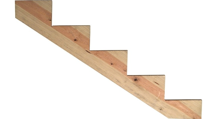 Deck Stairs At Lowes Com   3 Step Wooden Stairs   2 Step   Easy   Stringer   Tread   Outside