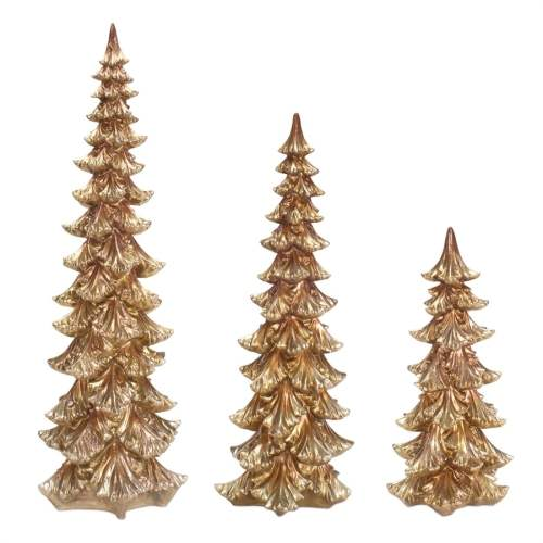 15 Gold Christmas Tree Decorations And Holiday Decor Ideas