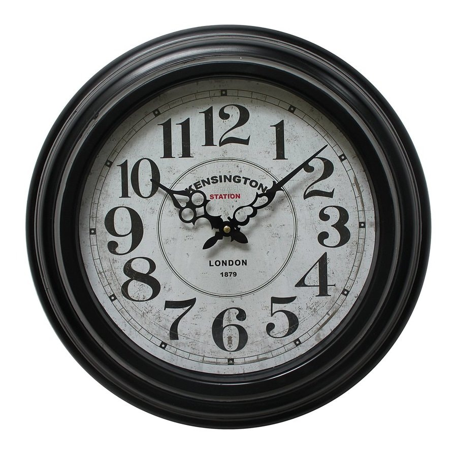 Shop Yosemite Home Decor Analog Round Indoor Wall Clock at Lowes com Yosemite Home Decor Analog Round Indoor Wall Clock