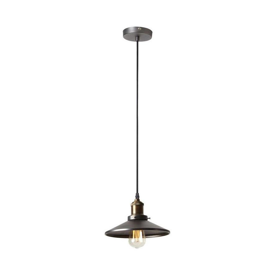 dainolite lighting vintage steel vintage warehouse pendant in the pendant lighting department at lowes com