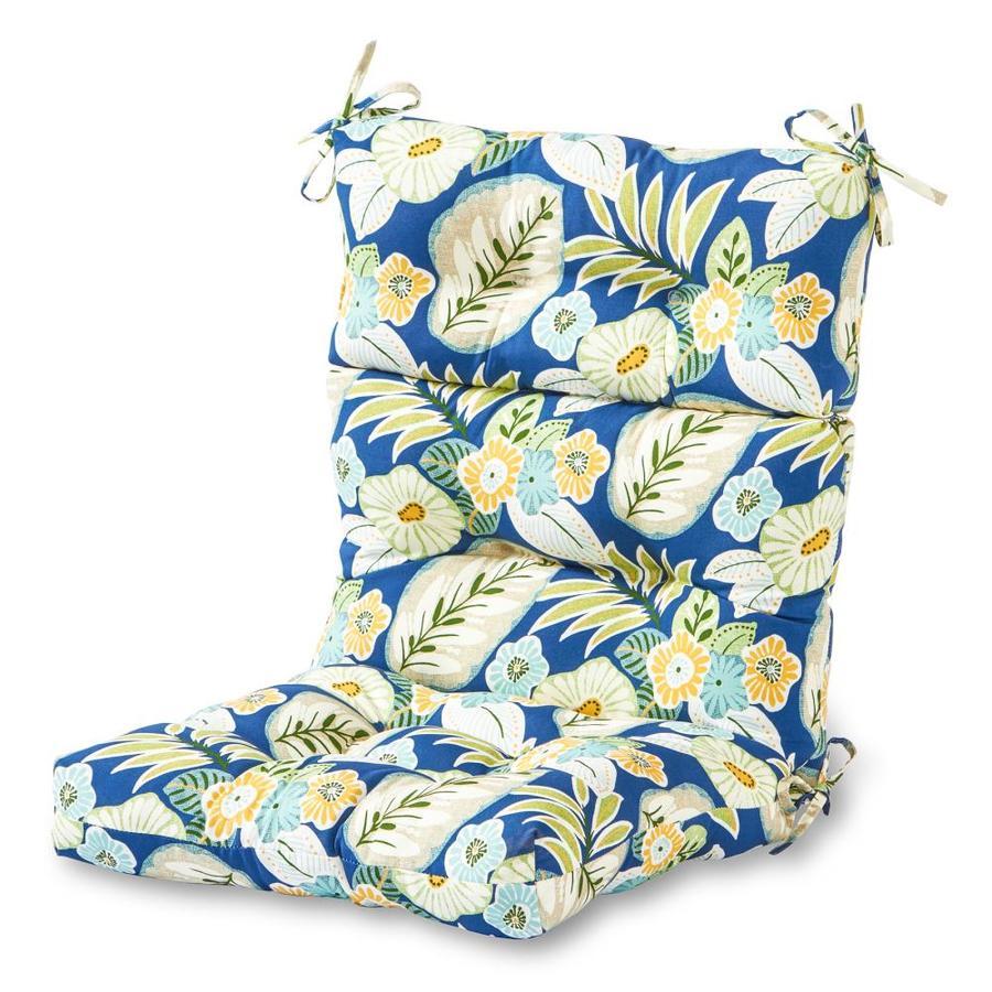 greendale home fashions marlow high back patio chair cushion