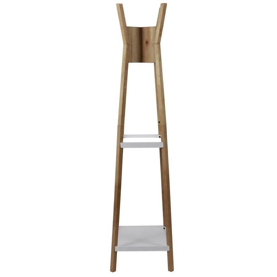 decor therapy wood mid century modern coat rack